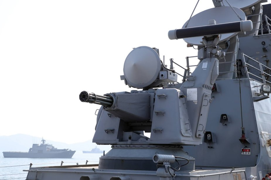 South Korea will develop close in weapon system for its warships fleet 925 002