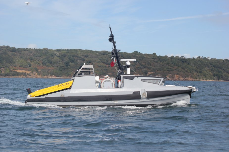 Thales MCM USVs will enter service with Royal Navy and French Navy in 2020 925 001