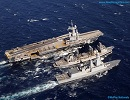 On April 5th 2012, aircraft carrier Charles de Gaulle started the FANAL 2012 exercise in the Mediterranean Sea. This exercise involves the entire Carrier Battle Group (CBG) until mid-April.