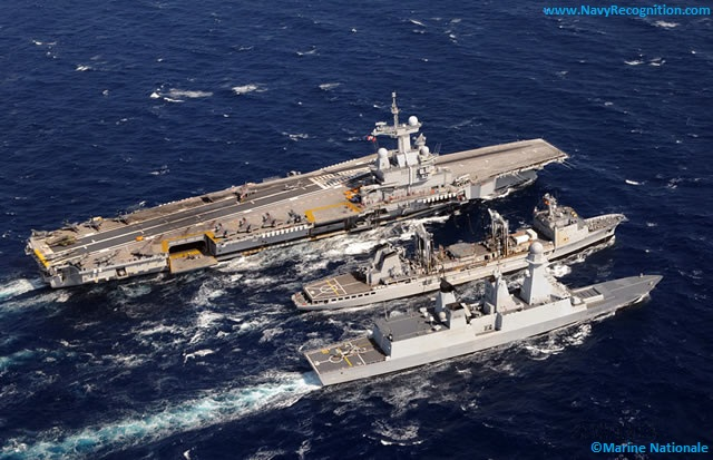 The french aircraft carrier Charles de Gaulle was deployed since March 22, 2011 as part of the military intervention put in place in accordance with UN resolution 1973. The Charles de Gaulle left the operation and should rally its base of Toulon, on August 12.