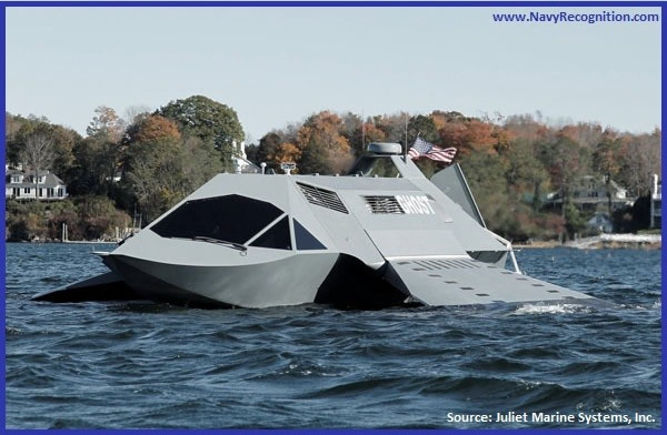 GHOST, the First Super-Cavitating Ship by Juliet Marine Systems, Inc
