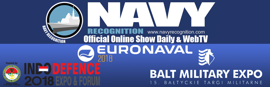 Navyrecognition official show daily web tv Blat Military Expo Euronaval Indodefence