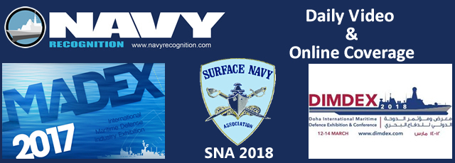 Navyrecognition official show daily web tv MADEX SNA DIMDEX 2018 exhibition