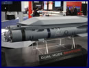 At the Navy League's 2014 Sea-Air-Space Exposition, MBDA Inc. has an F/A-18E Super Hornet scale model fitted with 12 dual mode Brimstone missiles. Incorporating an advanced dual mode seeker, Brimstone is effective against the most challenging, high speed and maneuvering targets over land and at sea.