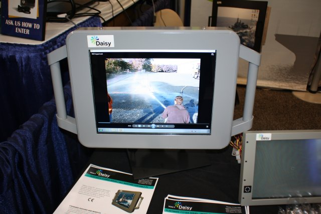 During SAS '15, held until April 15 in National Harbor, Daisy Data Displays, a hazardous location and ruggedized computer manufacturer based in York, PA, unveiled a brand-new highly adaptable range of PC specific to military applications, the 4210MA Series.