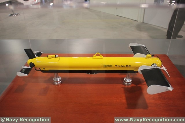 During the Navy League's 2016 Sea-Air-Space Exposition, Advanced Acoustic Concepts (a DRS/Thales company) is showcasing the Towed Synthetic Aperture Sonar (T-SAS). The T-SAS is the upgraded version of the TSM 2054 SSS (Side Scan Sonar) which has been in service for more than 12 years with the Danish Navy (8 ship sets, 12 vehicles and sonar).3 ship sets of the T-SAS have been sold to the French Navy under the name of DUBM-44.