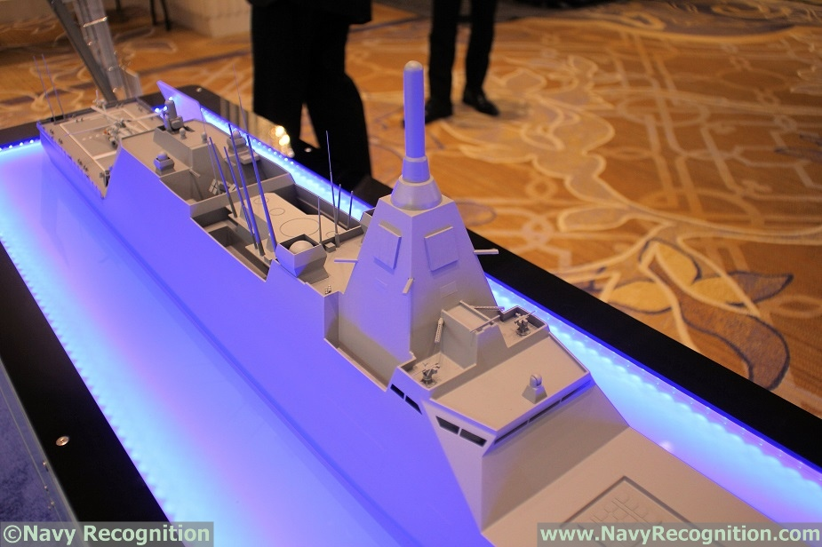 Japans MHI Showcasing 30DX Multi Mission Frigate Design 4