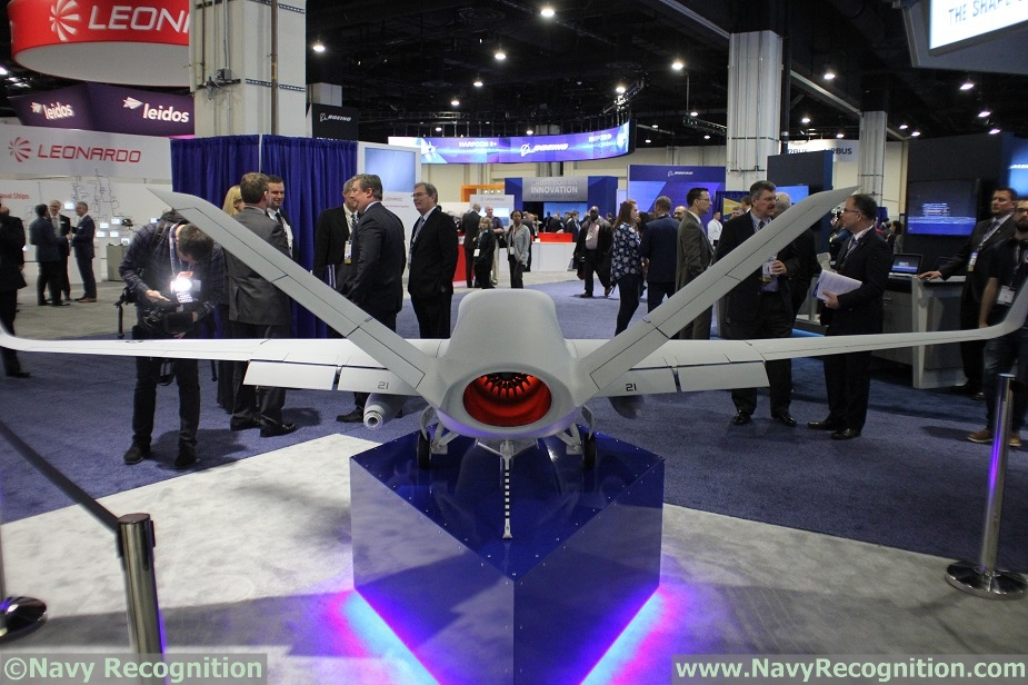 SAS 2018 General Atomics Showcasing its MQ 25 Unmanned Tanker 3