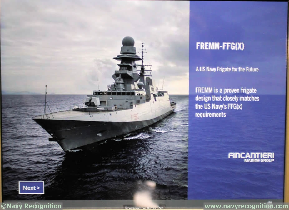 Exhibition Stand Usa : Sna contenders for the u s navy ffg frigate program