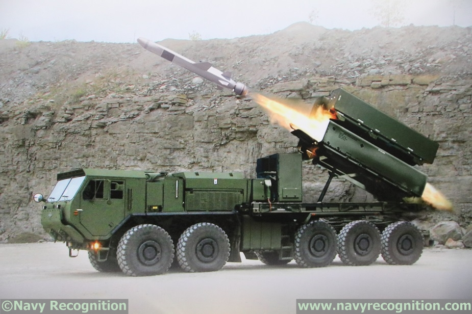 NSM anti ship missile to be tested from US Army HEMTT during RIMPAC 2018 1