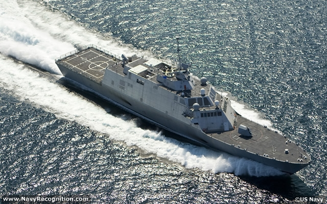 MARINETTE, Wis., June 6, 2012 – The Lockheed Martin-led industry team delivered the nation's third Littoral Combat Ship, Fort Worth (LCS 3), to the U.S. Navy two months ahead of schedule.