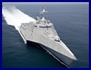 "On January 10, 2012, Austal's Mobile, Alabama shipyard completed the launch of the second 127-metre Independence-Variant Littoral Combat Ship, ""Coronado"" (LCS 4)."