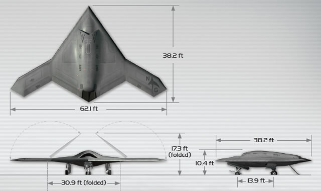 The X-47B is a tailless, strike fighter-sized unmanned aircraft currently under development by Northrop Grumman as part of the U.S. Navy's Unmanned Combat Air System Carrier Demonstration (UCAS-D) program.