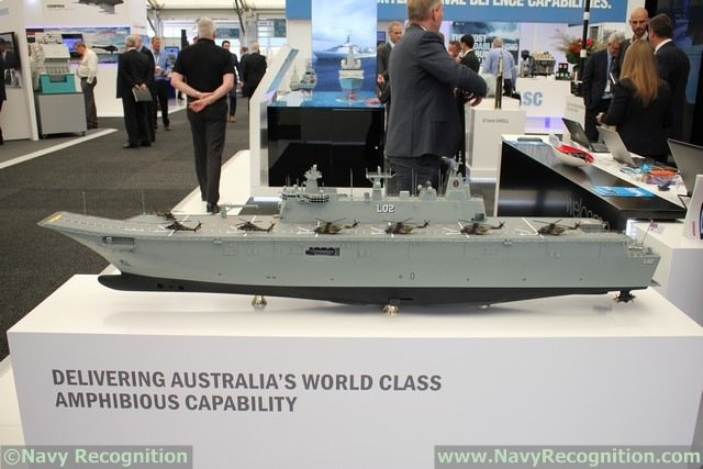 Lessons learned from supporting Australia's largest warship, HMAS Canberra, will benefit the Royal Australian Navy when its sister ship enters service later this year, according to prime contractor BAE Systems. The company has just completed the first 12 months of a four-year, $220 million program with responsibility for sustaining the new, first-of-class Landing Helicopter Dock.