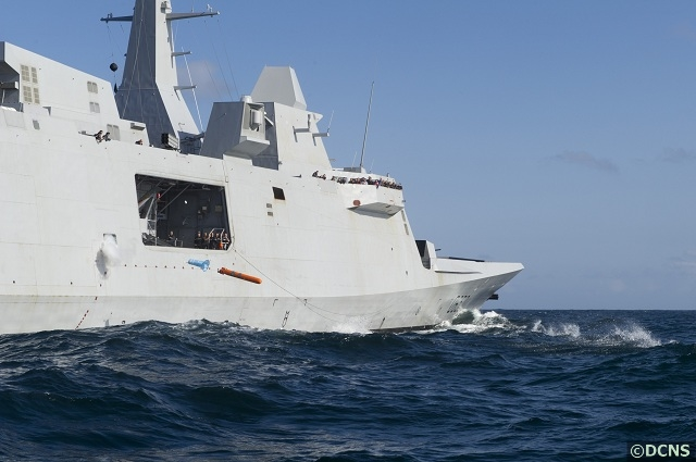 The French Navy announced that Aquitaine, the first of its new generation FREMM (European multi-mission frigate) frigate, recently received its initial operational capability in the field of anti-submarine warfare (ASW). The new French frigate is on its way to its official commissioning