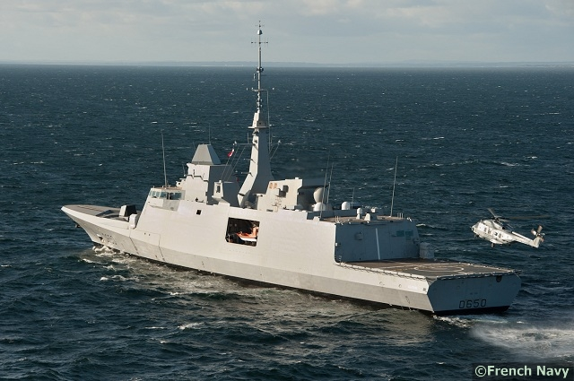 The French Navy announced that Aquitaine, the first of its new generation FREMM (European multi-mission frigate) frigate, recently received its initial operational capability (IOC) in the field of anti-submarine warfare (ASW). The new French frigate is on its way to its official commissioning.