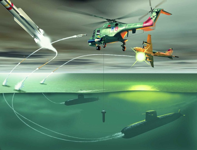 Currently, submarines have no alternative but to flee when detected by helicopters and maritime patrol aircraft. But thanks to a new air defense system developed by DCNS in cooperation with MBDA, the game is about to change.