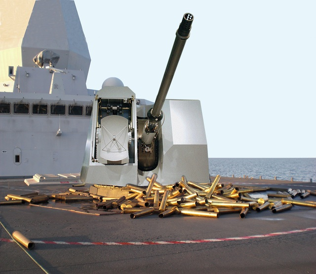 The 76/62 SR, today in service with 58 Navies worldwide, is a multirole medium caliber naval gun mount, designed for anti-missile and anti-aircraft as main role, and conceived for installation on multipurpose ships of any class and type.
