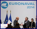 The 3 winners of the 4th edition of the EURONAVAL Trophies received their award from Jean-Yves Le Drian, French Defense Minister at the official opening ceremony of EURONAVAL 2014. The 3 rewarded companies are French SMEs that have distinguished themselves in 2014 in innovation and export perfomance.