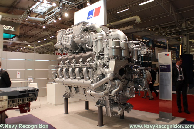 Under the brand MTU, Rolls-Royce presented propulsion and system solutions for the naval defence and marine sectors at the Euronaval exhibition in Paris which was held from 27 to 31 October. The focus was on the new diesel gensets based on Series 1600 and Series 4000, advanced developments on the proven Series 1163 main propulsion unit and the Callosum automation system. The MTU brand is part of Rolls-Royce Power Systems within the Land & Sea division of Rolls-Royce.