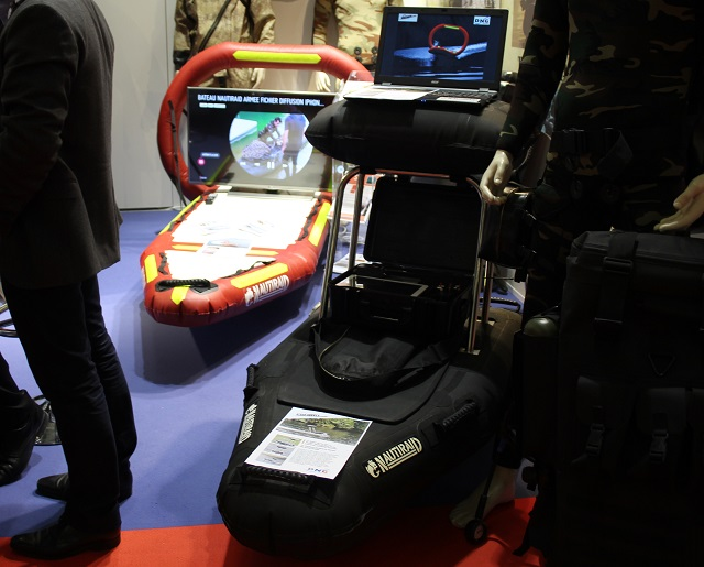 At Euronaval 2016 DNG Solution unveil its new water drones the Speed Rescue the Speed Survey