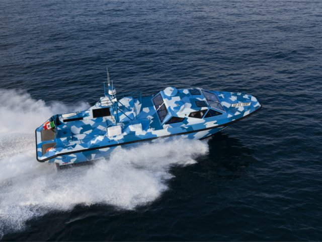 Baglietto Navy presents its MNI 15 fast craft at Euronaval 2016 640 002