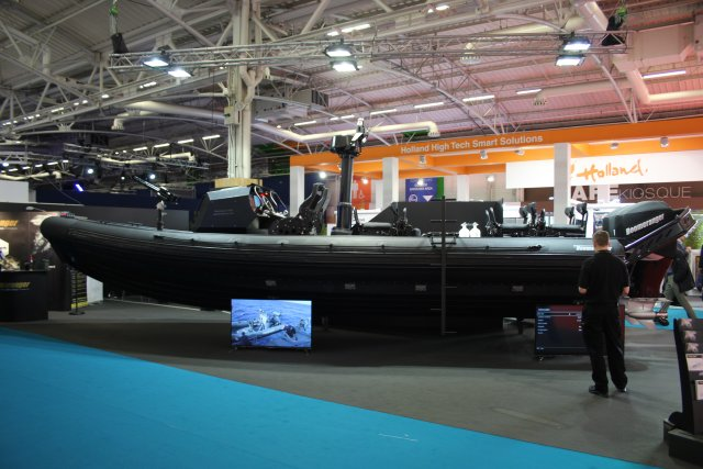 Boomeranger unveils its new C 950D Special Operations Boat at Euronaval 2016 640 001
