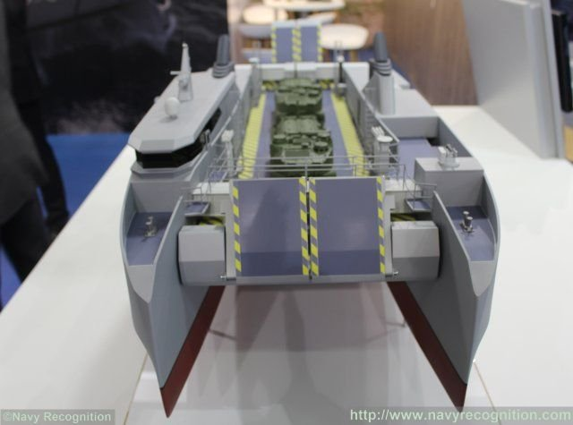 CNIM introduces Shore to Shore variant of its famous CAT landing craft 640 001