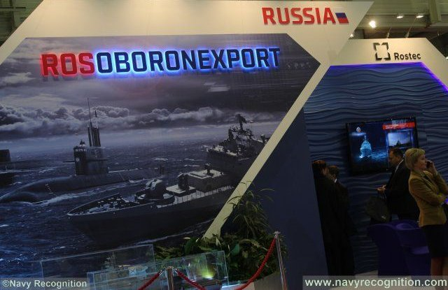 Rosoboronexport highlights latest Russian naval products in Paris 640 001