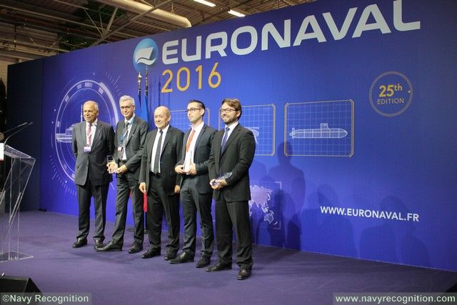 The winners of the 5th EURONAVAL Trophy Awards are ECA Voith Turbo and SBS Interactive 001