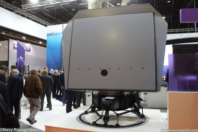 Thale NS200 long range AESA surveillance radar kes world premiere at Euronaval 2016 640 001