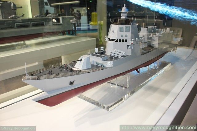 Fincantieri SEA5000 proposal is based on the Italian Navy FREMM ASW design