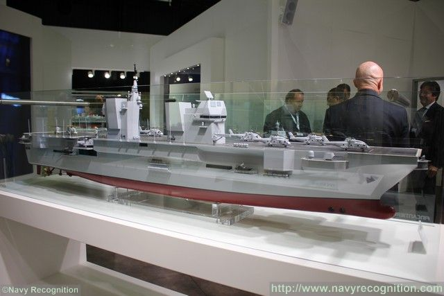 Super Snake 2017 >> Italian Navy Future Landing Helicopter Dock LHD Likely to be Named Thaon di Revel