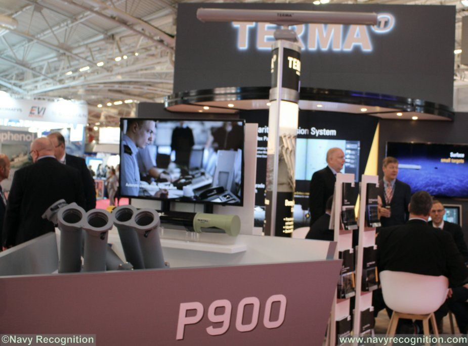 Terma Chemring joining forces at euronaval 2018 001