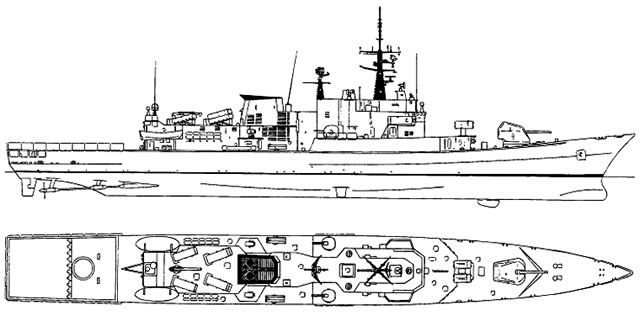 The Maestrale class frigates primary task is Anti-Submarine Warfare (ASW), however their weapons and systems provides them with a high degree of flexibility which makes them capable warships in Anti-Surface (ASuW) and Anti-Air (AAW) warfare roles.
