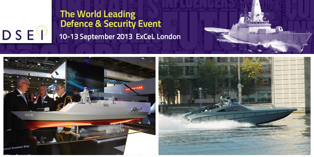 DSEI 2013 Naval Pictures Gallery
