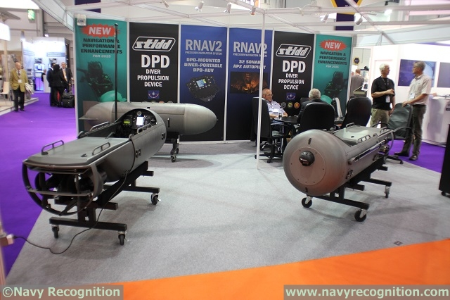 American company STIDD Systems introduced some performance enhancements for its diver propulsion device (DPD) during DSEI 2015, the International Defence & Security event in London, United Kingdom. The RNAV2 is a precision navigation system design to fit in the DPD but it is diver portable too. The new TEC2 thruster delivers more power and speed to the DPD.