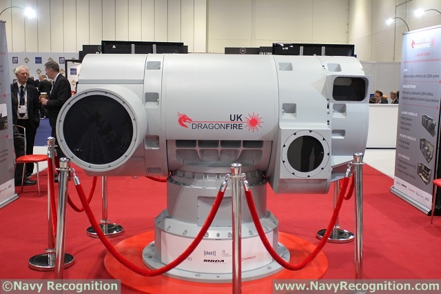 Dragonfire MBDA DSEI 2017 news