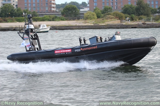 Pacific 950 optionally manned RIB