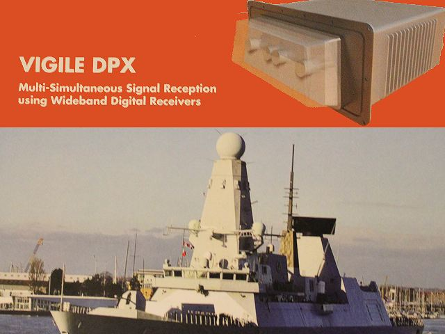 Vigile DPX Thales radar electronic surveillance naval platforms technical data sheet specifications information description pictures photos images video intelligence identification Thales British United Kingdom navy maritime naval defence industry technology