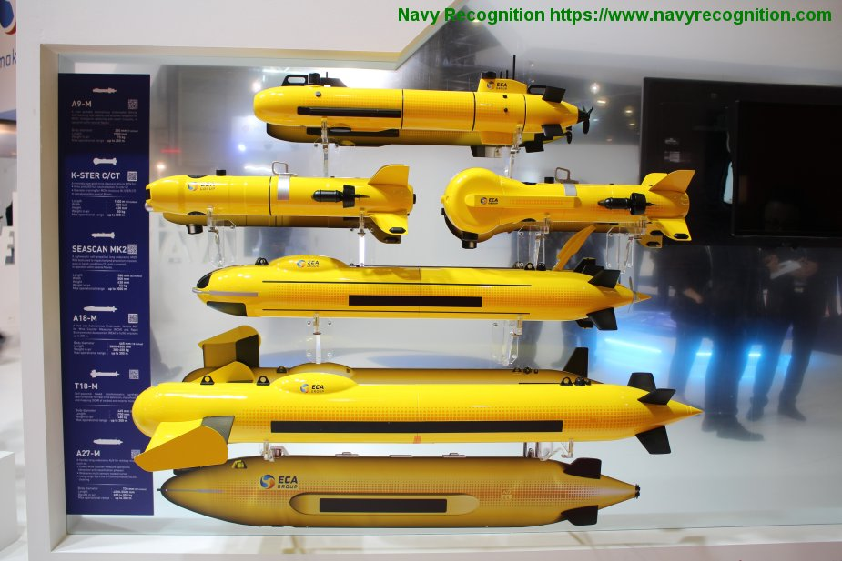LIMA 2019: ECA Group to display its naval robotics solutions
