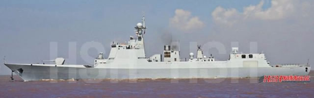 Type 052D Kunming Class Destroyer - Chinese Navy
