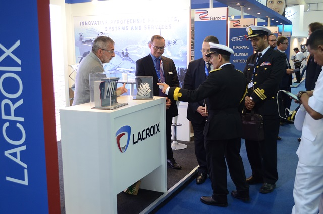 Lacroix stand LIMA 2017