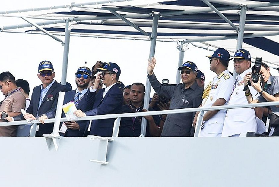 LIMA 2019 Malaysian Prime Minister headed an International Fleet Review