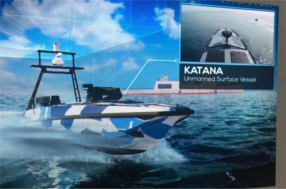 Israel Aerospace Industries to promote its Katana unmanned surface vessel Singapore IMDEX 2019 925 001