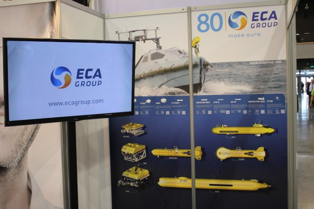 At the 14th Baltic Military Fair BALT-MILITARY-EXPO in Gdansk, Poland ECA Group, the french company specialised in robotics, automated systems and simulation presents its underwater and maritime robotics solutions.