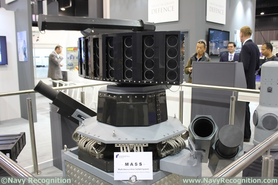 Balt Military Expo 2018 Rheinmetall Showcasing MASS Decoy System