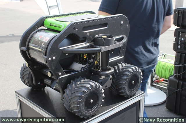 The LBV®300-5 Series of MiniROVs has become a top choice for maritime security by Militaries, Police and Port Security professionals. Dual-vertical thrusters provide increased power that allows for larger sensor packages. Add the revolutionary Crawler Skid and the LBV®300-5 can crawl on ship hulls and relatively flat infrastructure in currents exceeding five knots.