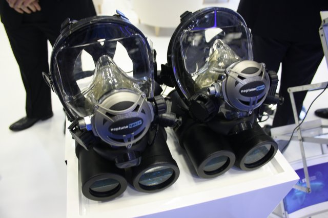 "For the first time to be demonstrated in the Doha International Maritime Defence Exhibition & Conference (DIMDEX 2016), STM presents ""The Anglerfish UWOC"", an underwater optical communication system."