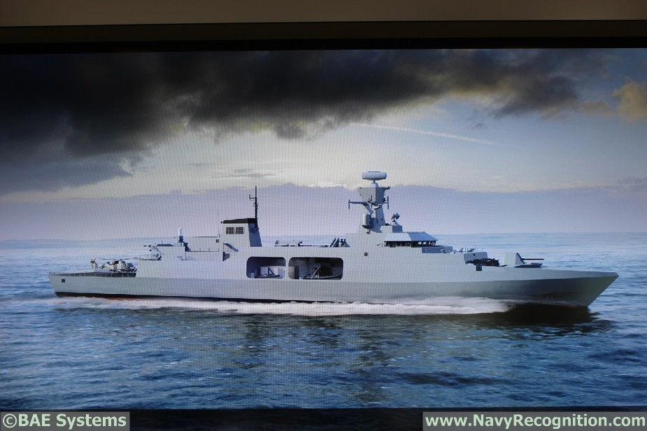 DIMDEX 2018 BAE Systems Showcasing Type 31e Frigate Design for the 1st Time 1
